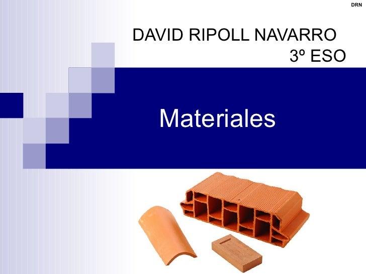 Materiales 2 B    PéTreos Y Aglomerantes (Sin Hiperlinks)