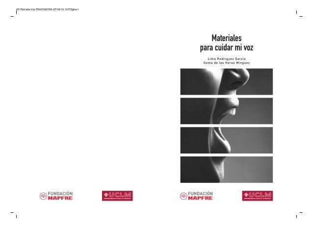 AF Portada Voz TRAZ 020709 2/7/09 10:16 P gina 1