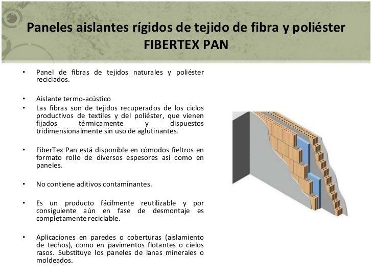 Materiales absorbentes - Material aislante para paredes ...