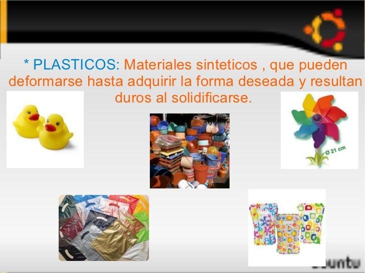 Materiales artificiales for Plasticos para lagos artificiales