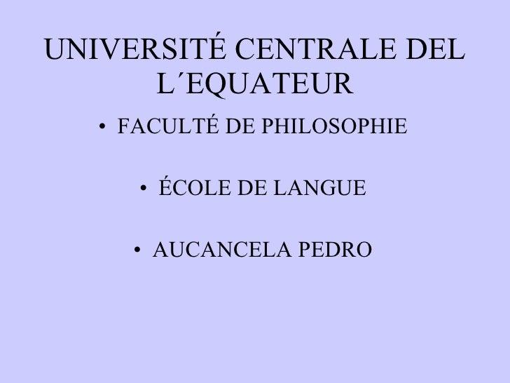 Materiales de clase (francés)