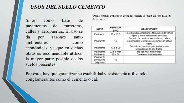 Materiales de construcci n suelo cemento - Cemento para suelo ...