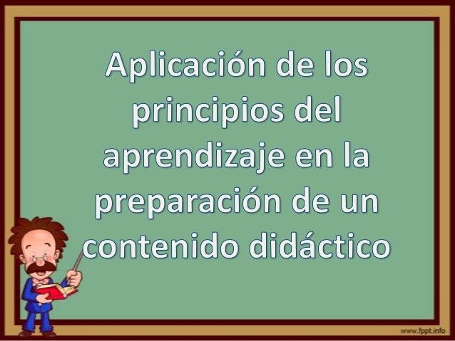 Presentación del Tema               Produce cambiosAprendizaje   en la conducta o en               el conocimiento        ...
