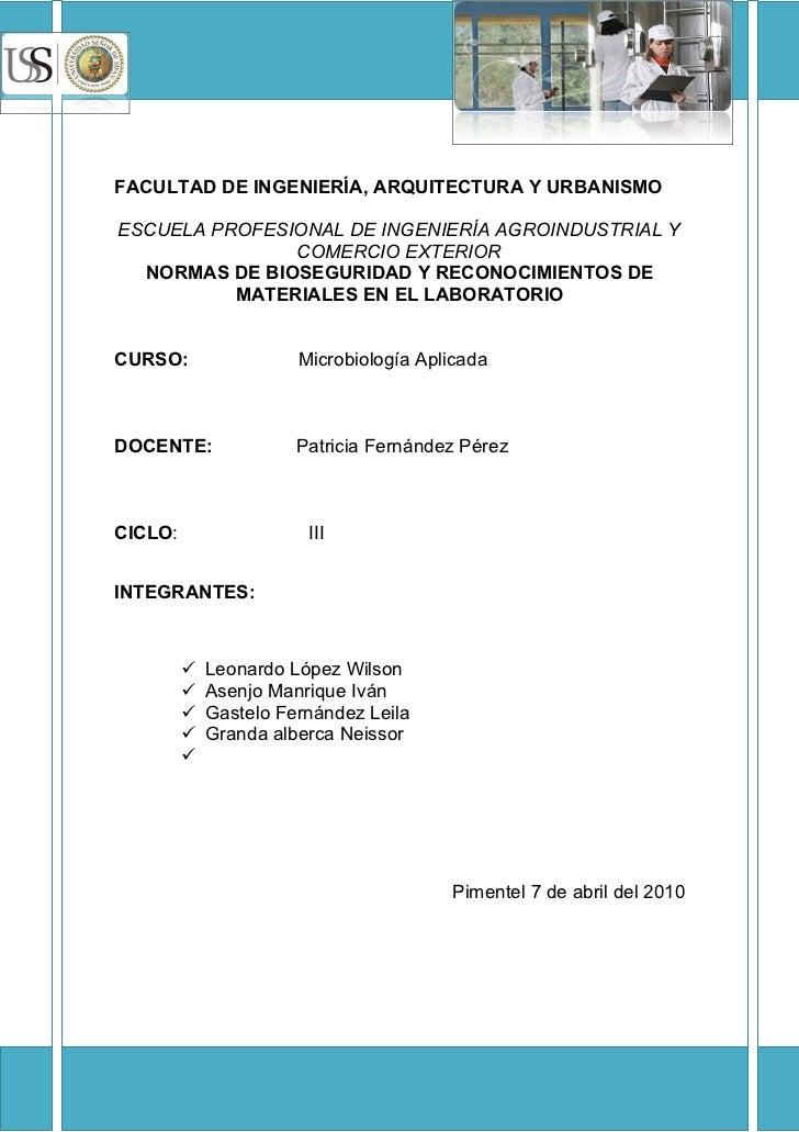 Materiales Microbiologia