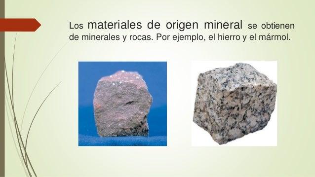 Materiales naturales for Definicion de marmol
