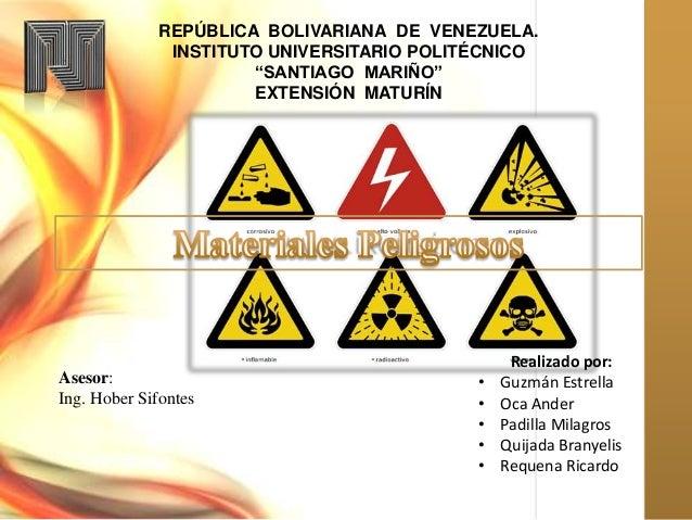 """REPÚBLICA BOLIVARIANA DE VENEZUELA. INSTITUTO UNIVERSITARIO POLITÉCNICO """"SANTIAGO MARIÑO"""" EXTENSIÓN MATURÍN Realizado por:..."""