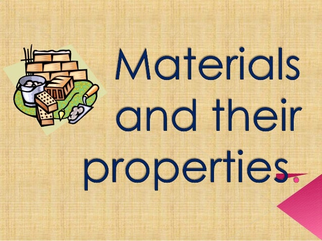 A material is a physical substance used to make things. Metals, plastics, ceramics, glass and fibres are some of the main ...
