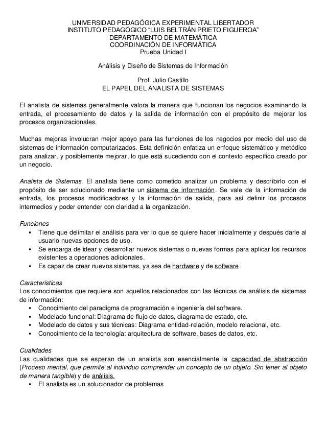"UNIVERSIDAD PEDAGÓGICA EXPERIMENTAL LIBERTADOR                INSTITUTO PEDAGÓGICO ""LUIS BELTRÁN PRIETO FIGUEROA""         ..."