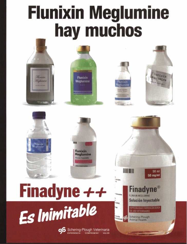 Flunixin Meglumine   hay muchos    L                                                             4Finadyne ++             ...