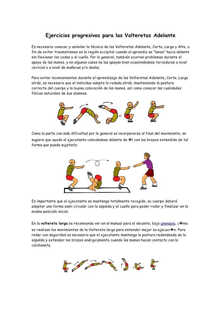 Material gimnasia for Ejercicios de gimnasia