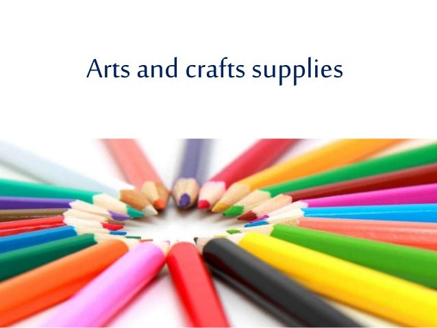 Arts and crafts supplies for Art n craft from waste