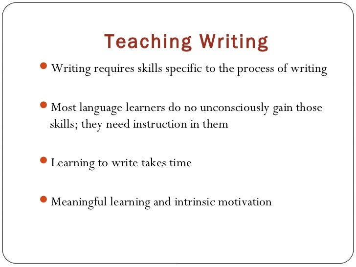 Writing materials and methods