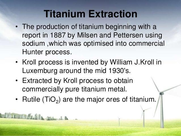titanium extraction