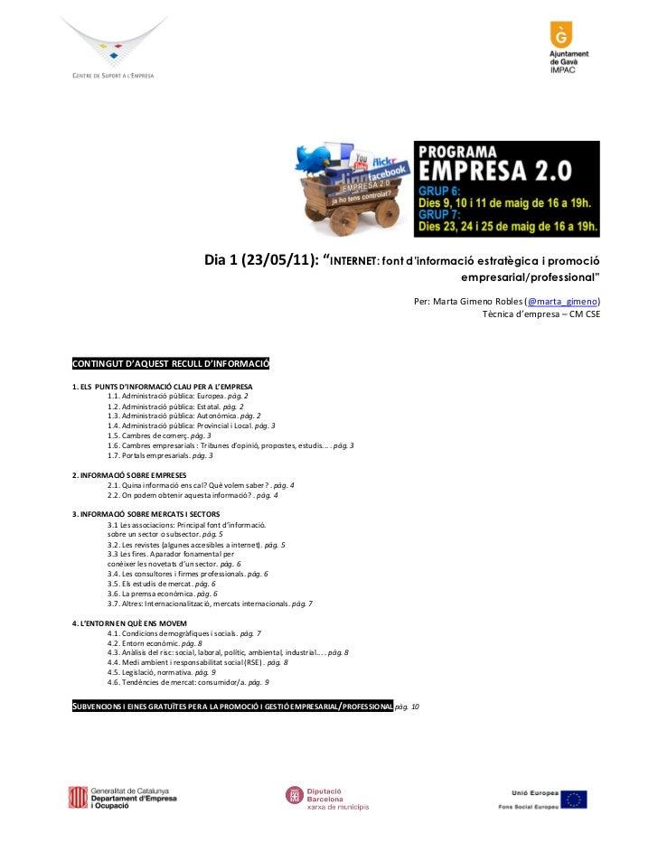 Materials empresa 2.0 g7
