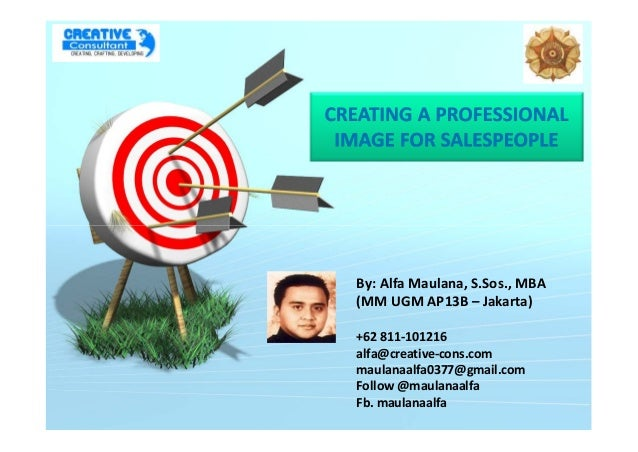 Professional Image for SalesPeople