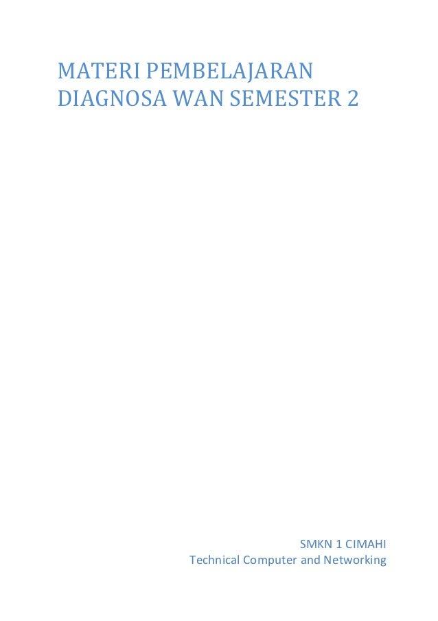 Materi diagnosa wan - Subiyantoro(29) - XII TKJ A