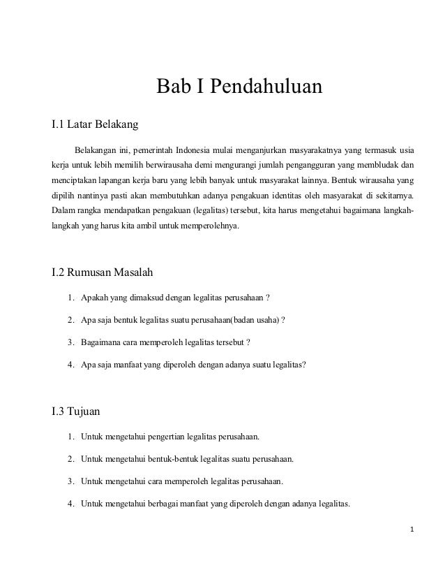 Bab I PendahuluanI.1 Latar Belakang      Belakangan ini, pemerintah Indonesia mulai menganjurkan masyarakatnya yang termas...