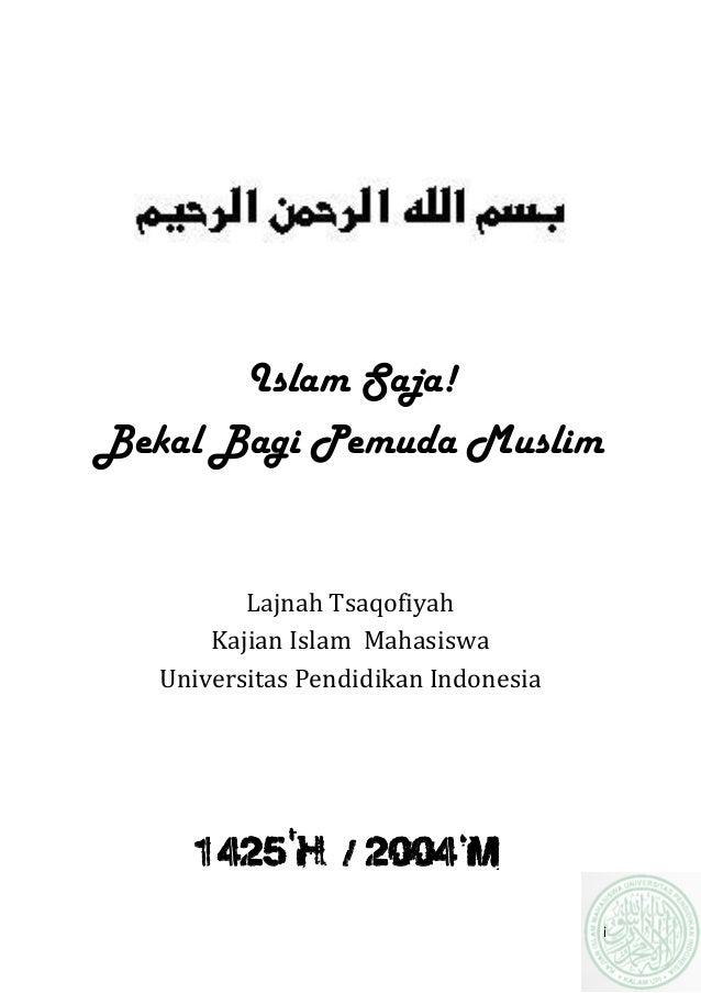 Materi mentoring islam