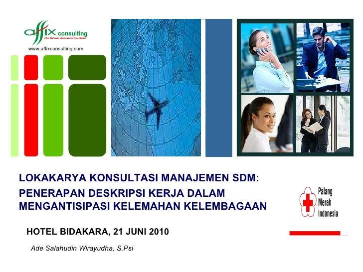 Materi workshop pmi