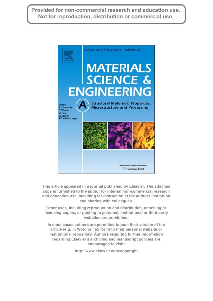 Mater science engin_a 527 (2010) 2738