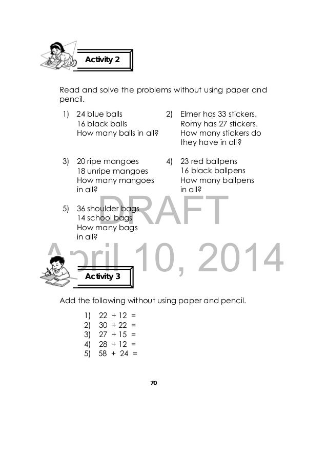 Addition problem solving questions grade 3 - online essay writing ...