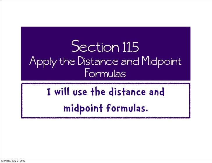 Math 11.5