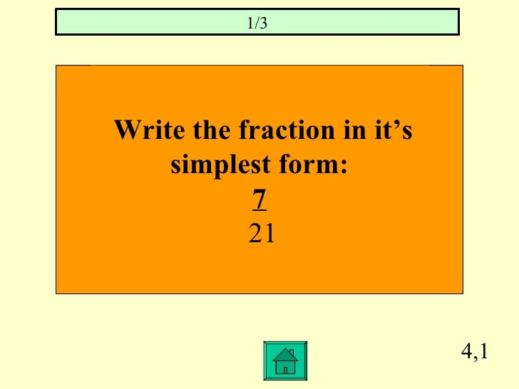 1.4 as a fraction in simplest form