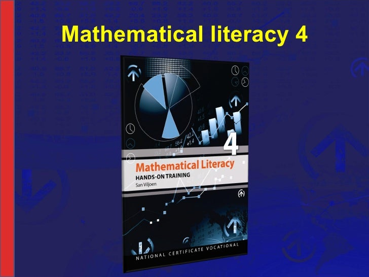 NCV 4 Mathematical Literacy Hands-On Support Slide Show - Module 2 Part 1