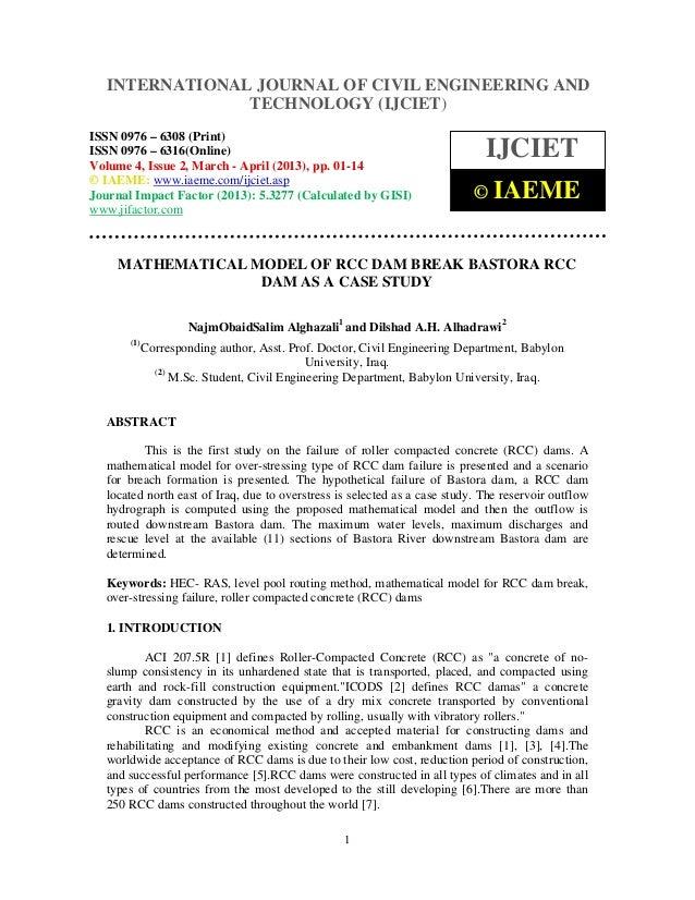 INTERNATIONAL JOURNAL OF CIVIL ENGINEERING AND  International Journal of Civil Engineering and Technology (IJCIET), ISSN 0...