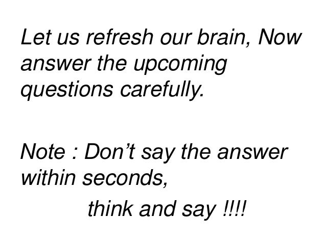 refresh your brain that s why we need brain teasers