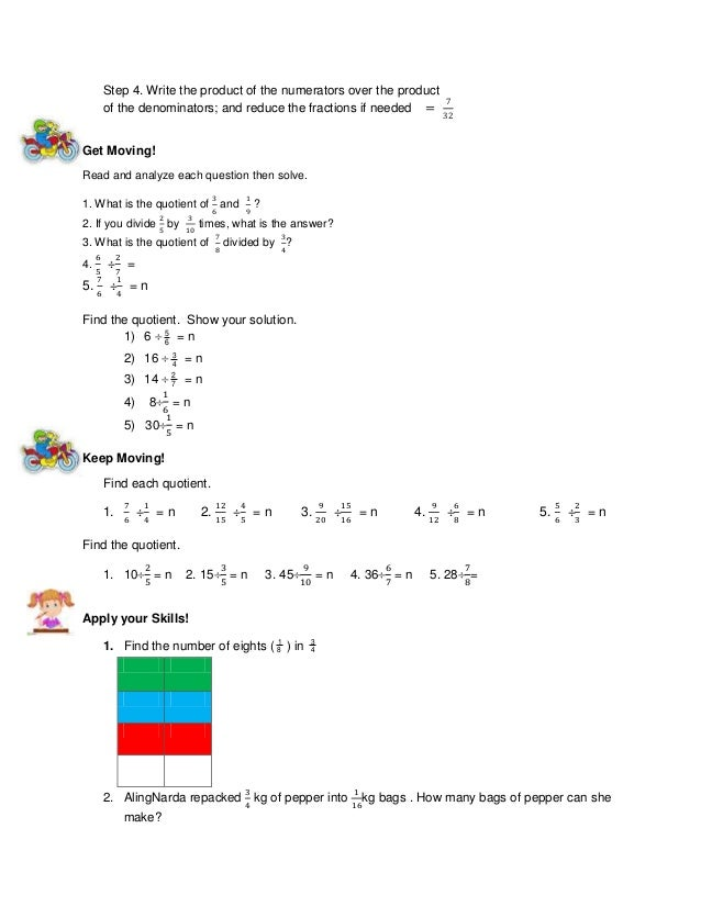 decimal fractions worksheets