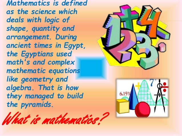 essay on application of mathematics in our daily life Mathematicians also engage in pure mathematics, or mathematics for its own sake, without having any application in mind mathematics on in our time at the bbc.