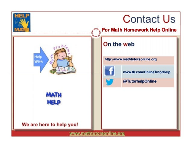 Write my mathematics homework help