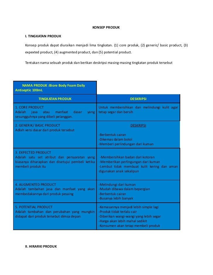 Konsep Produk Ahmad Mathien A4 Manajemen Nim 29010291