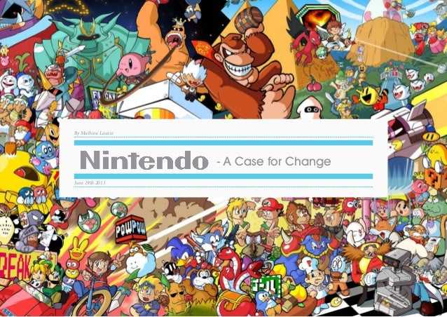 Strategy and Innovation for Nintendo