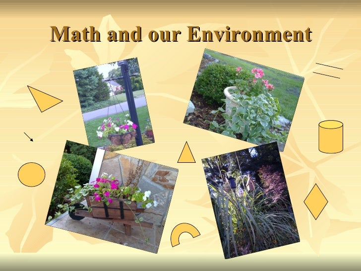 Math and our Environment