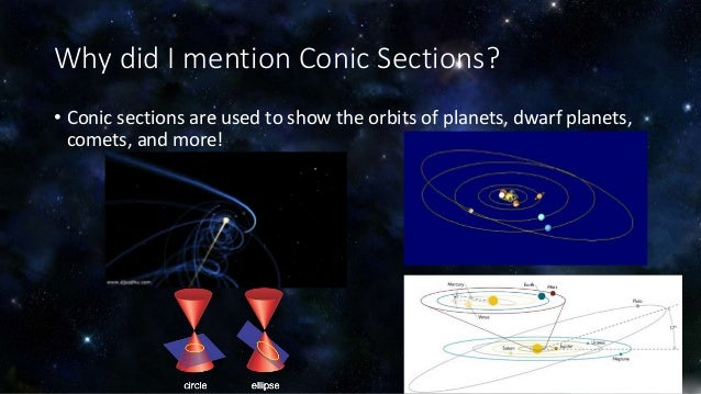 Math in space planetary orbits