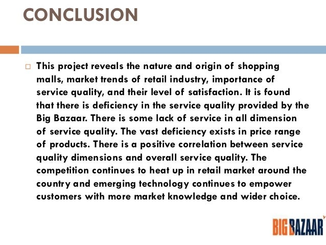 customer relationship and service at big bazaar Building customer relationships is one of the nine customer retention strategies you can use to improve customer service and reduce customer churn.