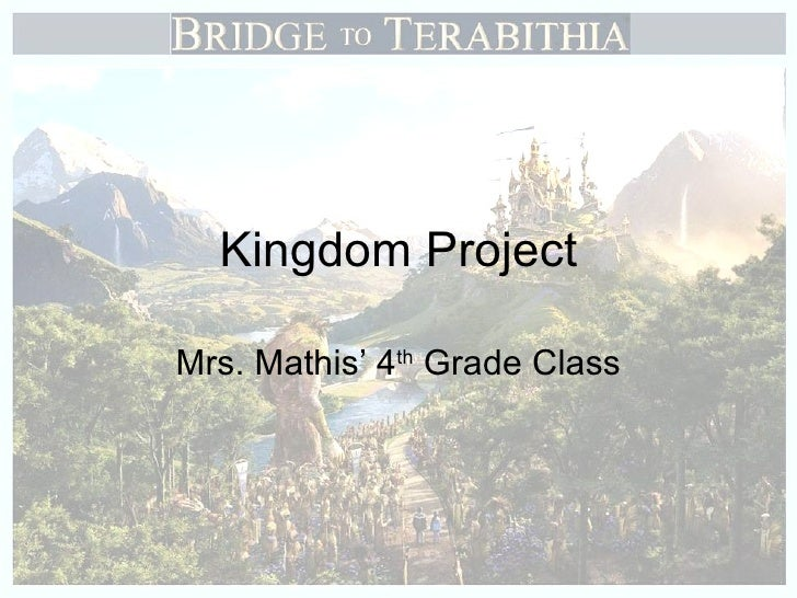 Kingdom Project Mrs. Mathis' 4 th  Grade Class