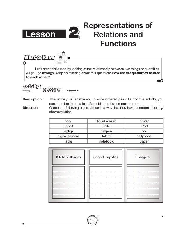 Mathematics Assessment Project