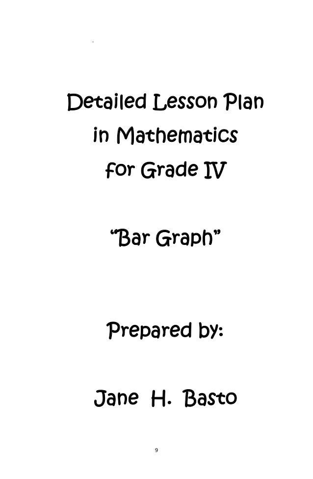 Lesson Plan i Mathematics