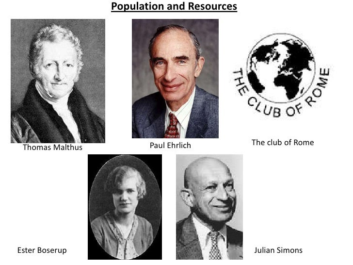 Malthus and boserup research lesson