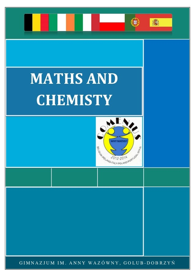 Maths and chemistry chapter
