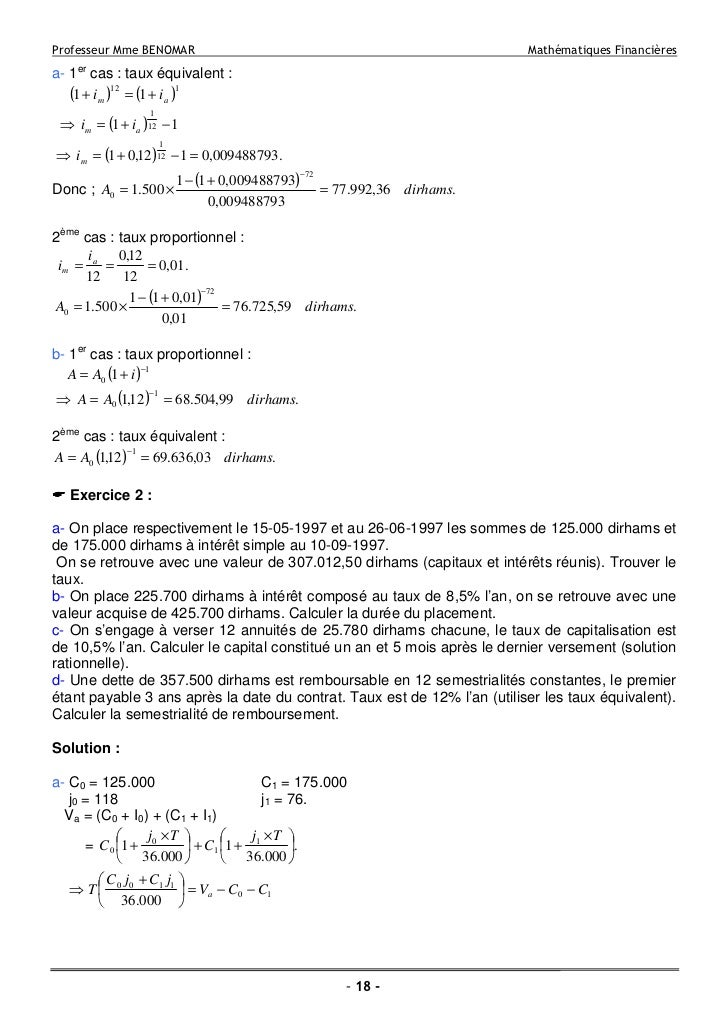 comment trouver un equivalent maths