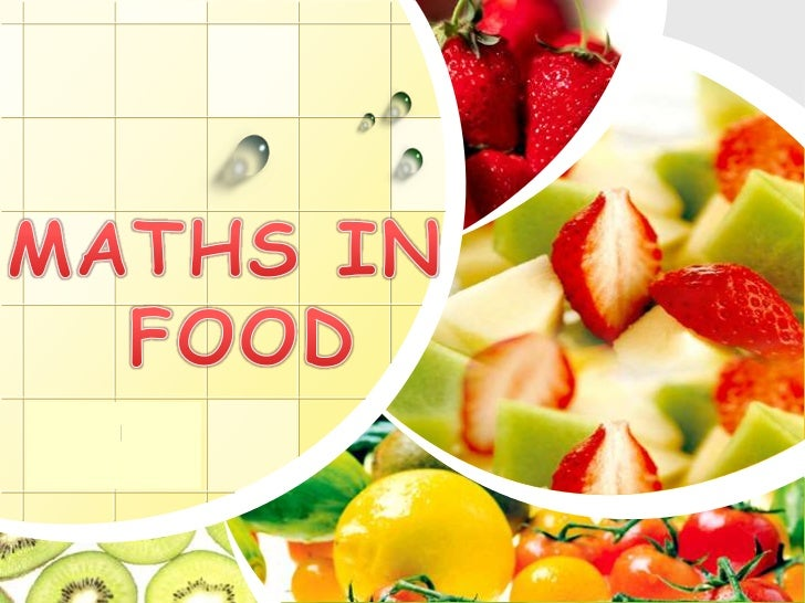 Maths in food