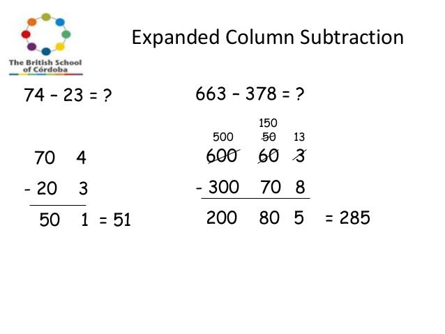 Column addition and subtraction worksheets year 2