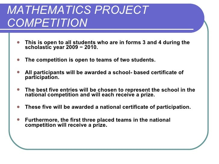 Maths Project Power Point Presentation on First School Years Maths