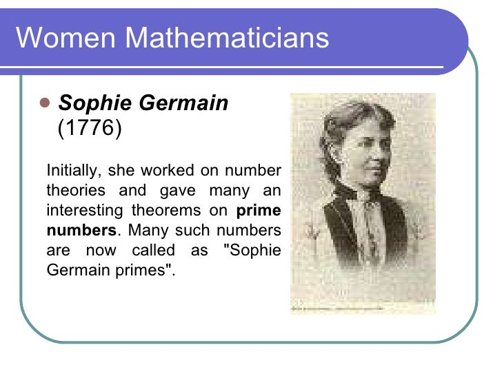 sophie germain Sophie germain an unknown mathematician from the century illustrated monthly magazine (1894.