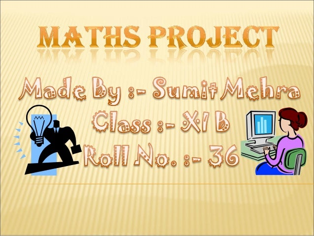 Maths Project 11 class(SETS)