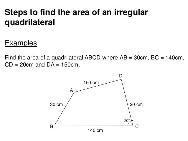 how to find the angles of a cyclic quadrilateral